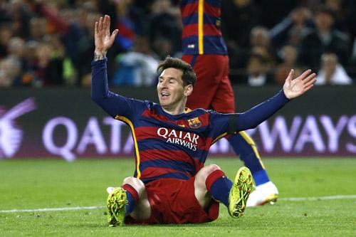 Messi trải qua chuỗi trận El Clascio tồi nhất
