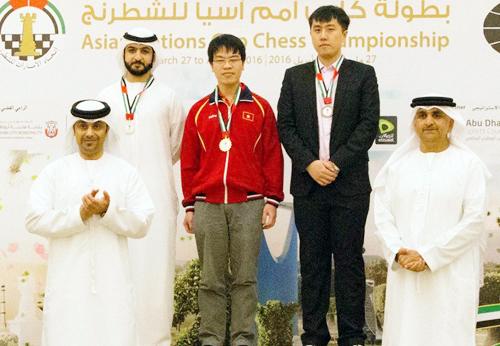 Cờ vua Việt Nam giành bảy HC vàng cá nhân tại giải châu Á