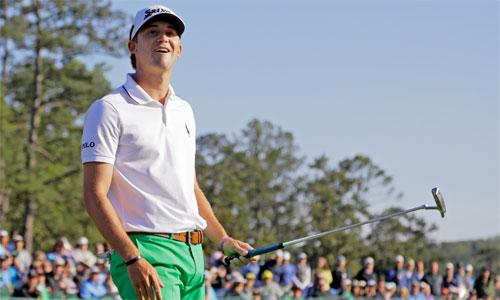 Tân binh học về Masters qua trò chơi điện tử của Tiger Woods