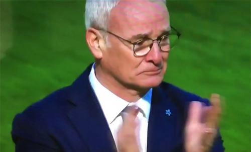 Giọt nước mắt của Claudio Ranieri