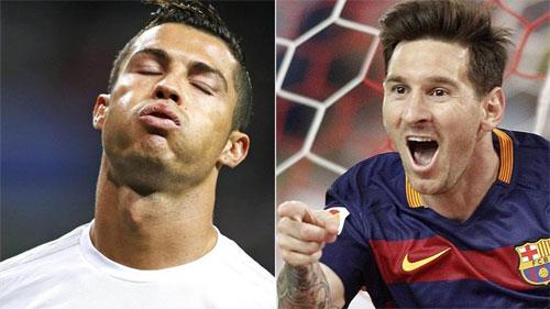 Ronaldo thua Messi về thu nhập năm thứ ba liên tiếp