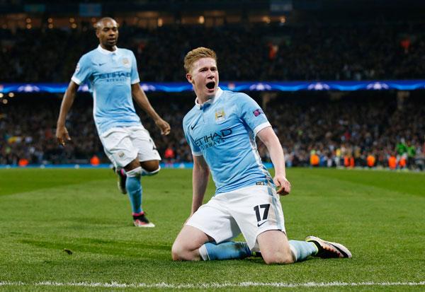 Man City hạ gục PSG, lần đầu vào bán kết Champions League