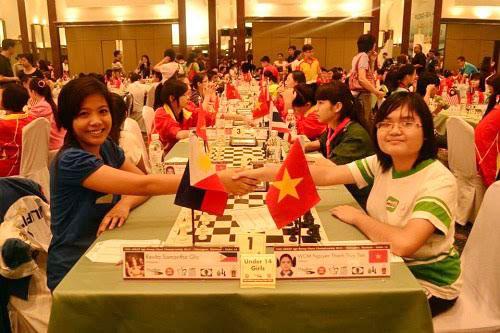 Việt Nam giành hai HC vàng cờ tiêu chuẩn giải trẻ châu Á