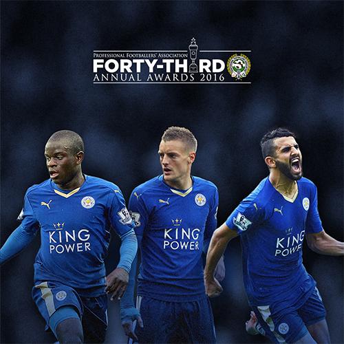 Leicester áp đảo đề cử Cầu thủ hay nhất năm của bóng đá Anh