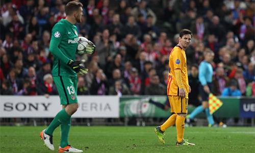 Messi trải qua chuỗi trận dài nhất không ghi bàn kể từ 2010