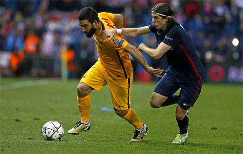 Sao Atletico muốn tránh Real Madrid ở bán kết