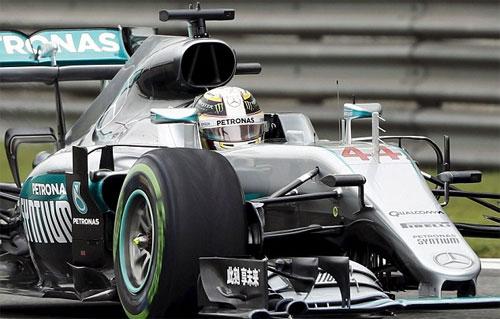 Hamilton xuất phát cuối, Rosberg giành pole tại Thượng Hải