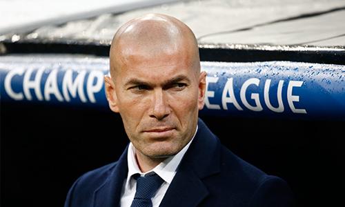 Zidane xếp Real Madrid ở cửa trên so với Man City