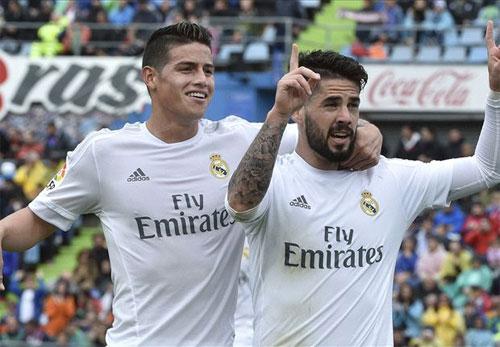 Giành chiến thắng năm sao, Real đuổi sát Barca