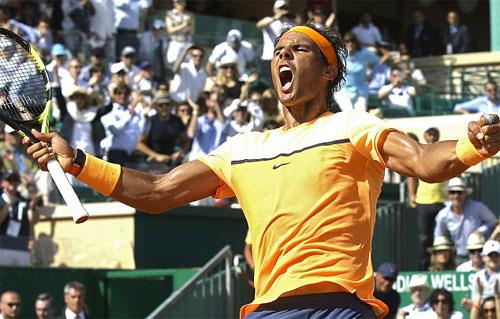 Nadal ngược dòng đả bại Murray, lần thứ 10 vào chung kết Monte Carlo