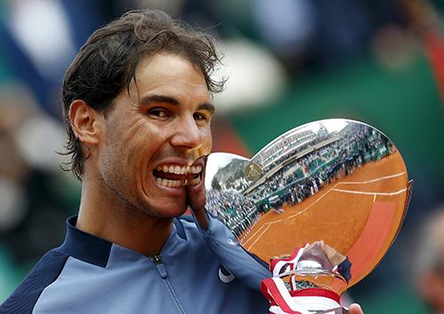 Nadal lần thứ chín vô địch Monte Carlo