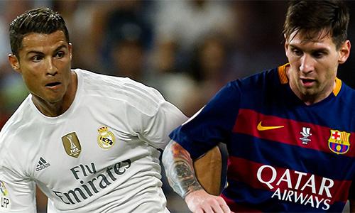 Giá trị của Messi cao gần gấp rưỡi Ronaldo