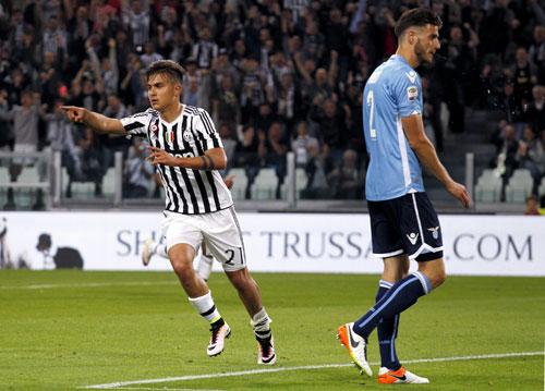 Juventus đè bẹp Lazio, có thể đăng quang ở vòng tiếp theo
