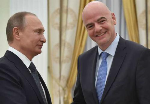 FIFA không tước quyền đăng cai World Cup 2018 của Nga