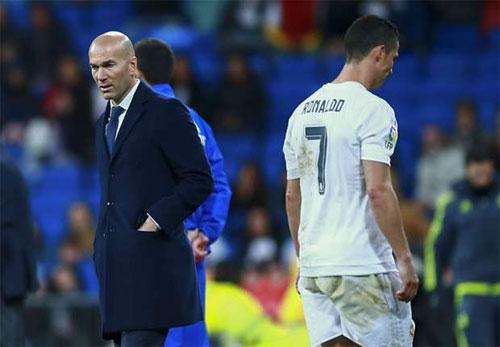 Real xác nhận Ronaldo chấn thương, có thể nghỉ trận gặp Man City