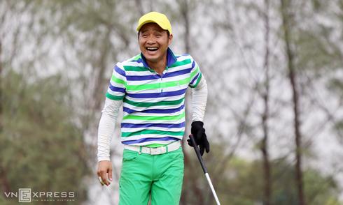 Cựu danh thủ Hồng Sơn và niềm vui trên sân golf