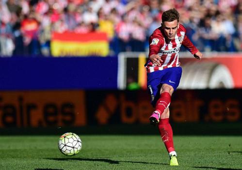 Griezmann ghi bàn siêu tốc, Atletico bám đuổi Barca