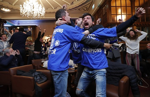 Leicester City vô địch giải Ngoại hạng Anh