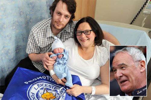 Nhiều người lấy tên Claudio Ranieri đặt cho con ở Leicester