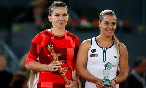 Simona Halep vô địch Madrid Masters