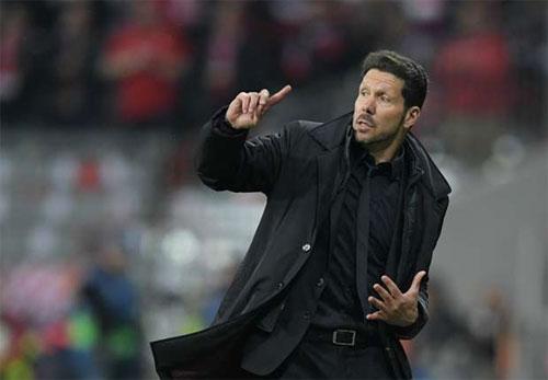 Simeone tự hào về Atletico, dù lỡ cơ hội vô địch Liga