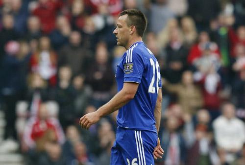 Đồng đội tại Chelsea nói lời từ biệt John Terry