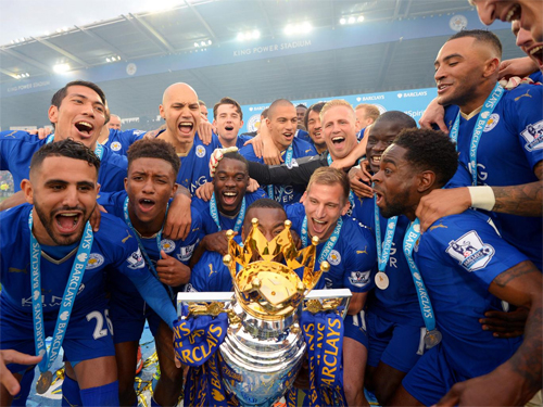 Leicester nhận ít tiền thưởng hơn Man Utd, Arsenal, Man City