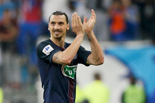 Ibrahimovic ghi cú đúp chia tay, PSG giành cú ăn ba quốc nội
