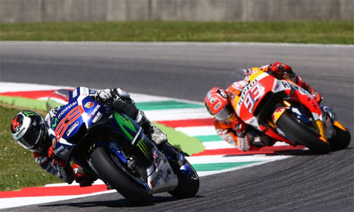 Lorenzo giành chiến thắng kịch tính tại GP Italy