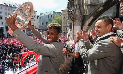 Kingsley Coman: 19 tuổi và tám danh hiệu lớn cùng Bayern