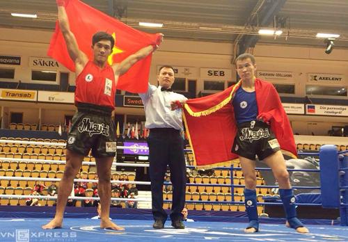 Nguyễn Trần Duy Nhất lần thứ sáu vô địch giải Muay Thái thế giới