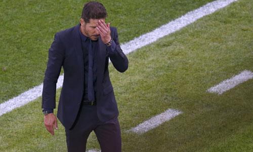 Simeone có thể rời Atletico vì thất bại ở Champions League