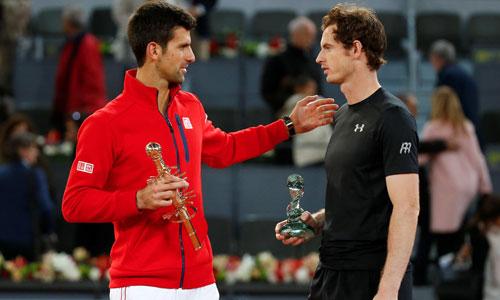 Djokovic lần thứ tư trong năm đụng Murray ở chung kết