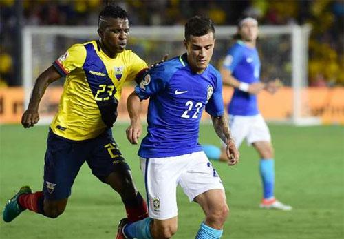 Brazil khởi đầu nhạt nhòa tại Copa America