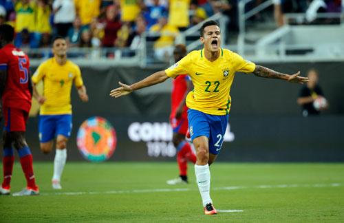 Coutinho mở lối, Brazil đại thắng ở Copa America