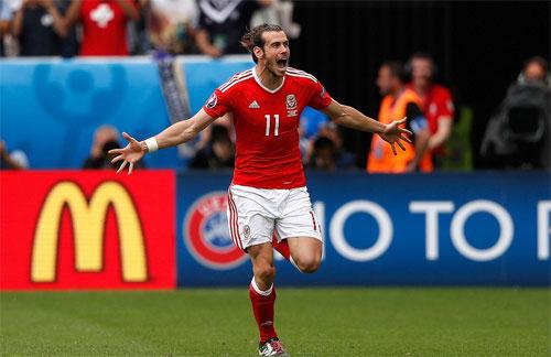 Bale lập kỷ lục Euro ngay trong trận đầu tham dự