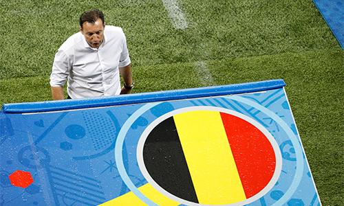 HLV tuyển Bỉ chỉ trích Italy đá thực dụng