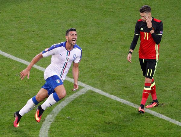 Italy phô diễn bản lĩnh, hạ gục dàn sao của Bỉ