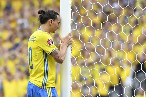 Đội bóng của Ibrahimovic lập kỷ lục buồn tại Euro 2016