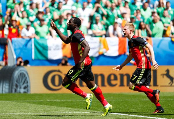 Đại thắng, Bỉ hồi sinh cơ hội đi tiếp ở Euro 2016