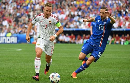 Iceland mất thắng vì đá phản, Hungary tiến gần tới vòng 16 đội