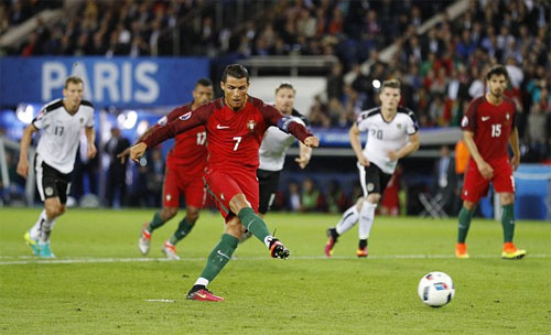 Ronaldo sút phạt thậm tệ ở các giải đấu lớn