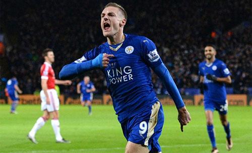 Vardy ký hợp đồng mới với Leicester City