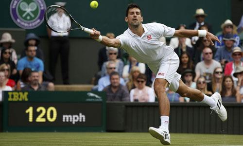 Djokovic thắng trận ra quân Wimbledon
