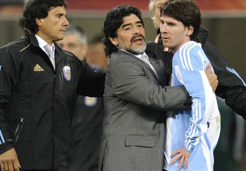 """Maradona: """"Messi sẽ vô địch World Cup 2018 với tuyển Argentina"""""""