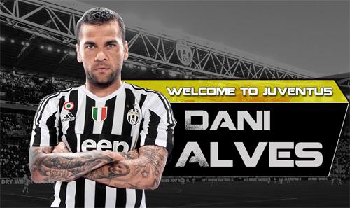 """Dani Alves: """"Tôi muốn giành Champions League với Juventus"""""""