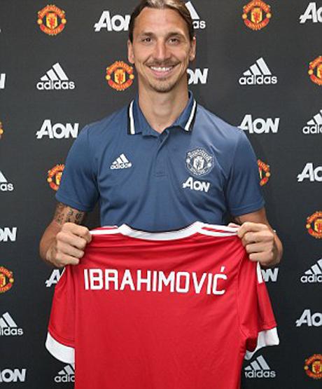 """Ibrahimovic: """"Tôi chọn Man Utd vì Mourinho"""""""