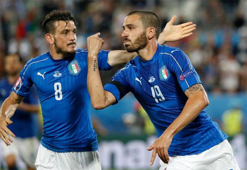 """Bonucci: """"Italy có thể ngẩng cao đầu rời Euro 2016"""""""