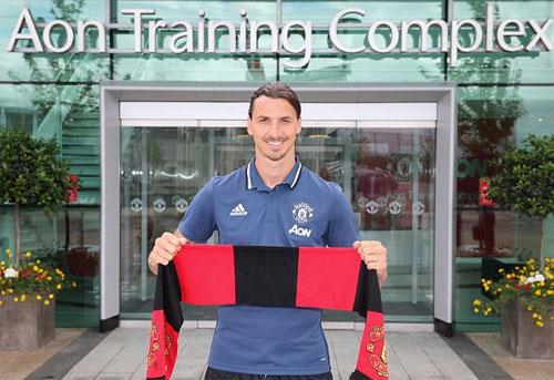 Ibrahimovic phá kỷ lục kiểm tra thể lực của Man Utd