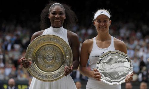 Serena phục hận Kerber, giành Grand Slam thứ 22